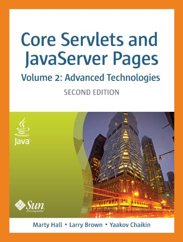 [PDF] Core Servlets and Javaserver Pages: Advanced Technologies, Vol. 2 (2nd Edition) Free Download | Publisher : Prentice Hall | Category : Computers & Internet | ISBN 10 : 0131482602 | ISBN 13 : 9780131482609