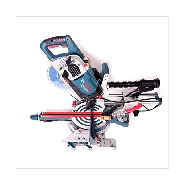 Bosch Professional GCM 8 SDE – Ingletadora telescópica (1600W, Ø Disco 216 mm, velocidad variable, láser, en caja)