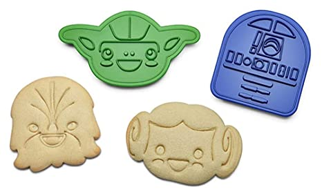 Star Wars Rebel Friends Cookie Cutters Set OF 6