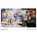 Posters: Salvador Dali Poster Art Print - The Apotheosis Of Homer (20 x 16 inches)