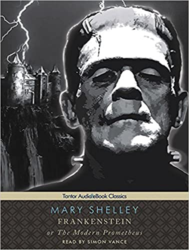 Frankenstein Or The Modern Prometheus Mary Shelley Cover Art