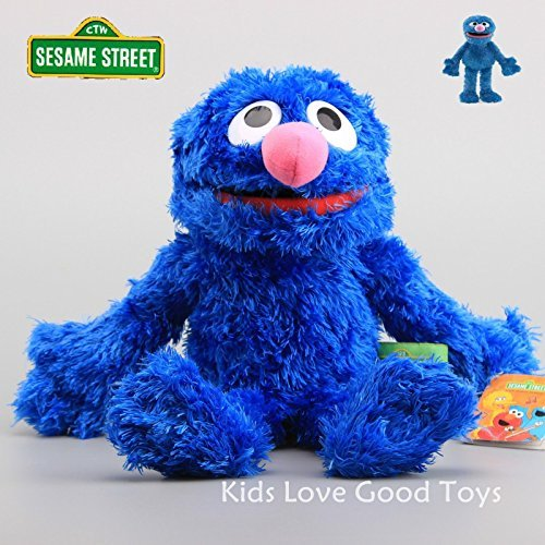 Good Sesame Street Plush Grover Hand Puppet Play Games Doll Toy Puppets New 2016