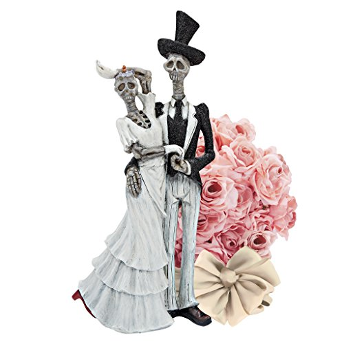 (Design Toscano Bride and Doom Married Skeleton Couple)