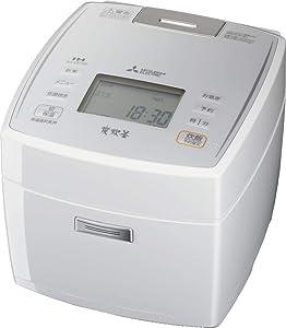 Mitsubishi Electric IH rice cookers Bincho Sumisumi ?? 5.5 Go cook Pure White NJ-VE108-W