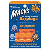 Mack's Soft Moldable Silicone Putty Ear Plugs – Kids Size, Comfortable Small Earplugs for Swimming, Bathing, Travel, Loud Events and Flying (18 Paris)