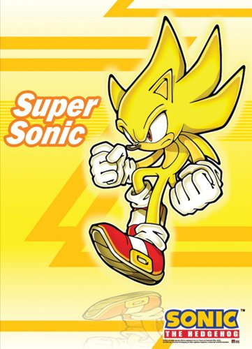 Great Eastern Entertainment Sonic The He - Supersonic Wall Scroll Shopping Results