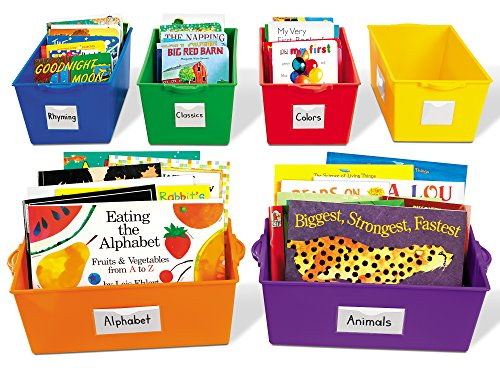 Lakeshore Help-Yourself Book Boxes - Set of 6