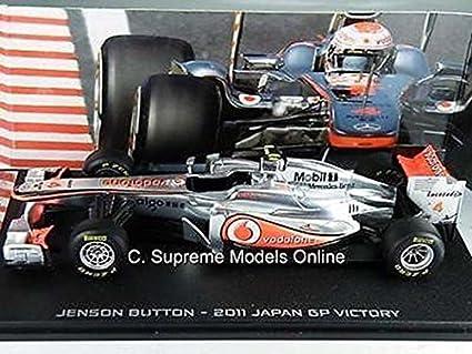 = JENSON BUTTON FORMULA 1 CAR MODEL 1//43 SCALE SILVER//RED MCLAREN EXAMPLE T312Z