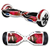 MightySkins Protective Vinyl Skin Decal for Hover Board Self Balancing Scooter mini 2 wheel x1 razor wrap cover sticker Anime