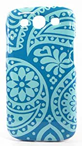 T-Mobile Tech21 Snap Cover for Samsung Galaxy S III S3 - Turquoise / Teal Design - Case w/ D30 Impactology
