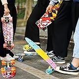 M Merkapa Skateboards with Colorful LED Skateboard