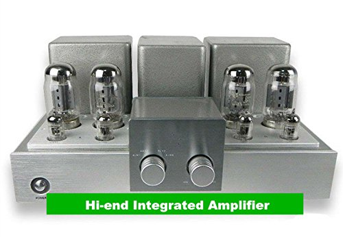 GOWE Hi-end Integrated Amplifier KT88 x 4 Power Vintage Tube Amp Output Power 60W +60W(6¦¸)