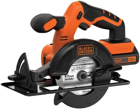 BLACK+DECKER 5-1/2-Inch Cordless Circular Saw