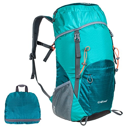 g4free-large-40l-lightweight-water-resistant-travel-backpack-foldable-packable-hiking-daypacklight-b