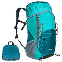 G4Free Large 40L Lightweight Water Resistant Travel Backpack/foldable & Packable Hiking Daypack