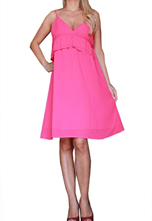 sports shoes 9b841 1d306 akè [:it Abito Donna Dress Woman Robe Femme Elegante Fucsia ...