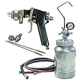 ATD 16843 Tools Pressure Pot Spray Gun and Hose Kit-2 Quart