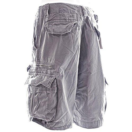 Gris 52010 Y Cargo Durables Cortos Molecule Militar Resistentes Grandes Crepuscular Algodón Pantalones Tallas 100 Tipo RORHtP