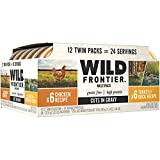 Wild Frontier Perfect Portions Cuts In Gravy Wet Cat Food Variety Pack: (6) 2.6 Ounce Chicken Twin-Pack Trays, (6) 2.6 Ounce Turkey & Duck Twin-Pack Trays