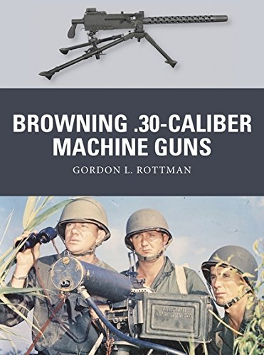 Browning .30-caliber Machine Guns (Weapon) (Browning Machine Gun)