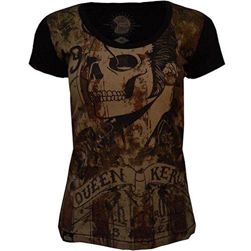 Camiseta Camiseta Para Kerosin Mujer Queen Mujer Para Queen Kerosin Kerosin Queen wqzXX8