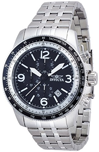 Invicta Mens 13960 Specialty Quartz Chronograph Date Stainless Steel Watch