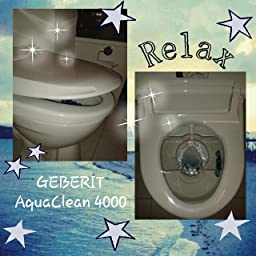 Amazon.de:kundenrezensionen: Geberit Dusch-wc-aufsatz Aqua-clean 4000 Hi Tech Toilette Mit Wasserstrahl