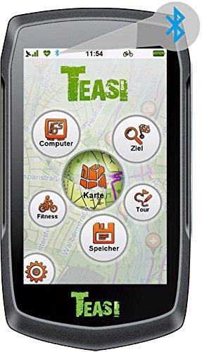 TEASI ONE³ - Outdoor-Navigationsgerät mit Bluetooth und Europakarte