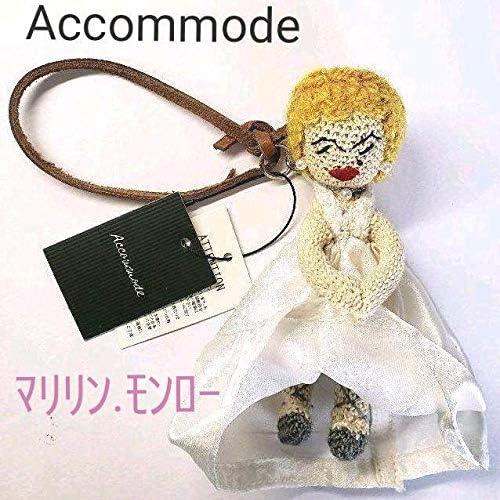 Accommode スーパースター マリリンモンロー クリップ 人形チャーム