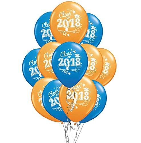 DalvayDelights Orange & Blue Class 2018 Graduation Grad 11