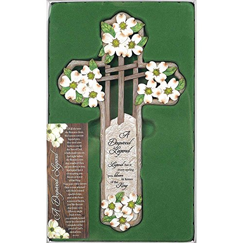 Dicksons Dogwood Legend Spring Bloom King 12 Inch Resin Gifting Boxed Wall -