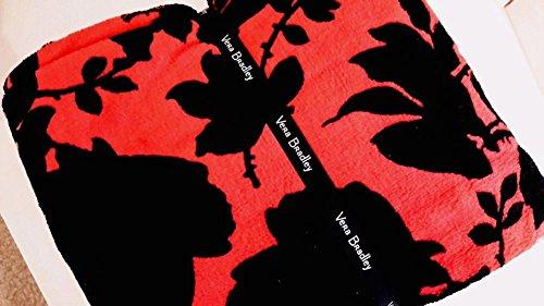 Vera Bradley Throw Blanket - Silhouette Floral - NWT Floral Blanket