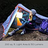 LuminAID PackLite Max 2-in-1 Camping Lantern and