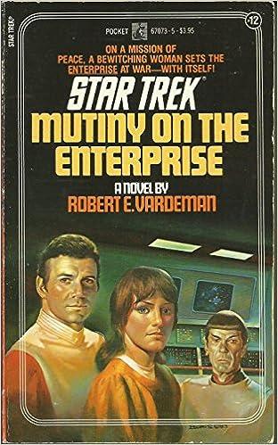 Book MUTINY ON THE ENTERPRISE STAR TREK 12