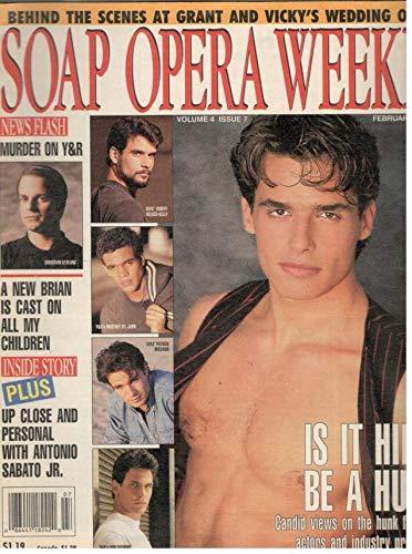 Soap Opera Weekly February 16 1993 Antonio Sabato