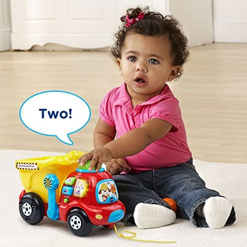 toys, games, baby, toddler toys,  push, pull toys 6 on sale VTech Drop & Go Dump Truck (Frustration Free Packaging deals