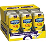 Hellmanns Real Mayonnaise Spread, 20 Fluid Ounce Squeeze Bottle - 12 per case.