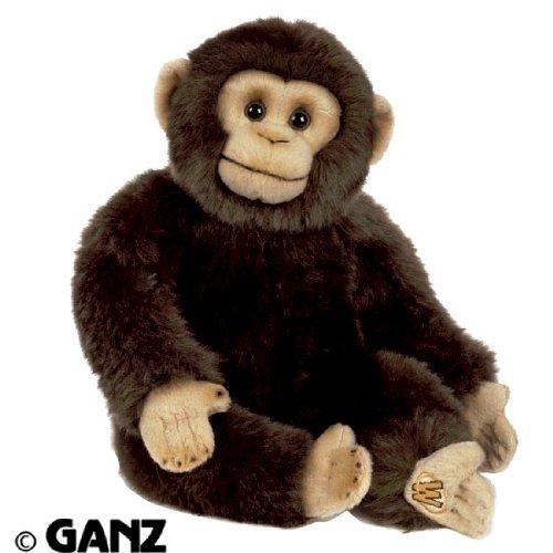 Webkinz Chimpanzee - Webkinz Signature Small Chimpanzee with Trading Cards