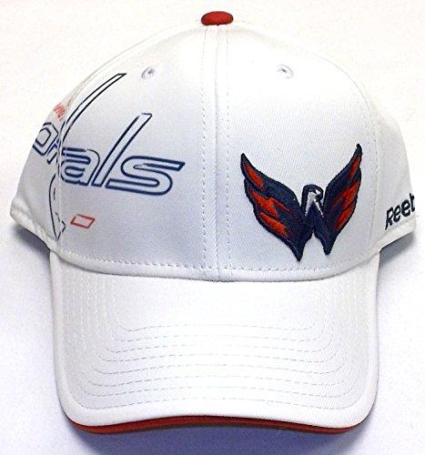 NHL Washington Capitals Center Ice Second Season Cap, White, Large/X-Large