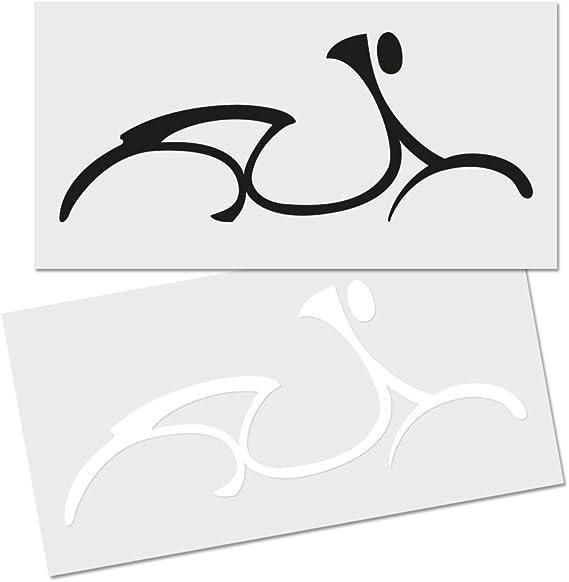 Roller Aufkleber Autoaufkleber Rolleraufkleber Folie Sticker Für Vespa Fahrer Auto