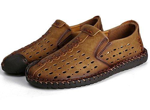 2017verano Casual hombres de transpirable sandalias hueca nuevos hombres de la cómoda malla zapatos 2
