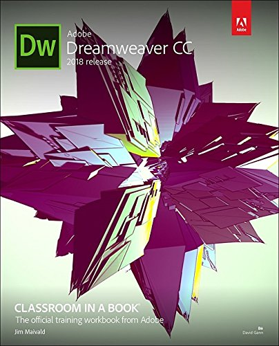 Adobe Dreamweaver CC Classroom in a Book (2018 release) by Adobe Press