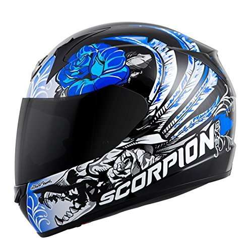 81063509 Scorpion EXO-R410 Novel Street Motorcycle Helmet (Black/Pink, Small)