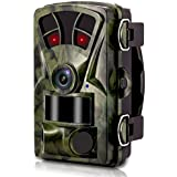 [2018 New] VENLIFE Trail Camera,16MP 1080P Wildlife Game Hunting Camera 65ft / 20m Infrared Scouting Camera with IR LEDs Night Vision , 0.2s Trigger Time IP56 Waterproof Protected Design