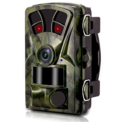 [2018 New] VENLIFE Trail Camera,16MP 1080P Wildlife Game Hunting Camera 65ft / 20m Infrared Scouting Camera with IR LEDs Night Vision , 0.2s Trigger Time IP56 Waterproof Protected Design (Scouting Digital Camera)