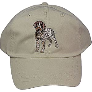 Cherrybrook Stone Dog Breed Embroidered Adams Cotton Twill Caps (All Breeds) 13