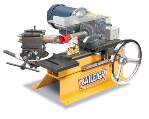 Baileigh TN-300 Hole Saw Tube and Pipe Notcher, 110V, For 3/4