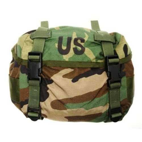 (NEW US Army Military Genuine Issue GI Surplus Field Training Waist Utility Fanny Butt Pack ALICE Woodland Camouflage Bag)
