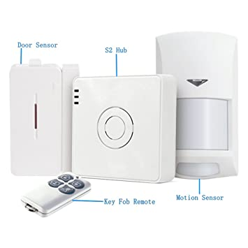 Boger Sensor de alarma para BroadlinkS2 detector de movimiento Sensor de alarma de control remoto 433HMz