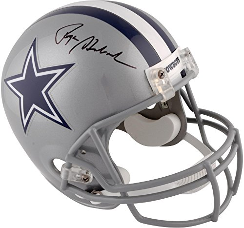 Roger Staubach Dallas Cowboys Autographed Riddell Deluxe Full-Size Replica Helmet - Fanatics Authentic Certified